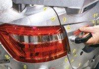 Задний фонарь предсерийной Lada Vesta